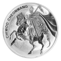 1 oz 2017 South Korean Chiwoo Cheonwang Silver Round