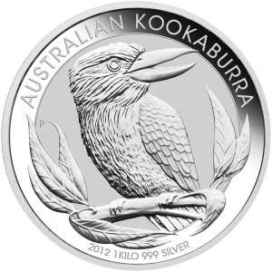 1 kg | kilo 2012 Australian Kookaburra Silver Coin