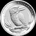 1كغ | كيلوغرام 2012 من العملات الفضية الخاصة بطائر الكوكابورا الأسترالي