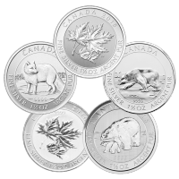 1.5 oz Random Year Our Choice of Royal Canadian Mint Silver Coin