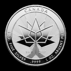 1 oz 2017 Canada 150th Anniversary Silver Round