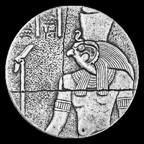 2 oz 2016 Egyptische Relikwieën Serie | Horus Zilveren Munt