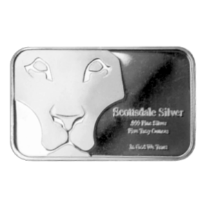 5oz Scottsdale Prey Silver Bar