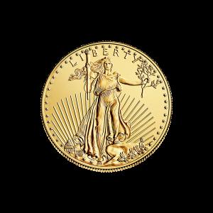 1/4 oz Goldmünze - amerikanischer Adler - Zufallsjahr