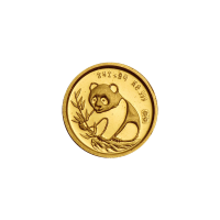 1/20 oz 1987 Panda Sino-Japanese Friendship Gold coin PF