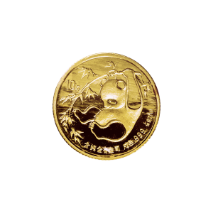 1/10 oz 1985 Chinese Panda Gold Coin