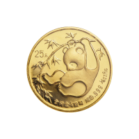 1/4 oz 1985 Chinese Panda Gold Coin