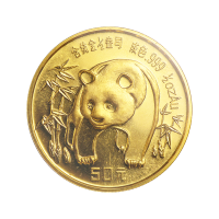 1/2oz 1986 Chinese Panda Gold Coin