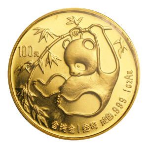 1 oz 1985 Chinese Panda Gold Coin