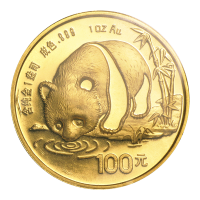 1 oz 1987 Chinese Panda Gold Coin