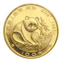 1 oz 1988 Chinese Panda Gold Coin