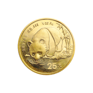 1/4 oz 1987 Chinese Panda Gold Coin