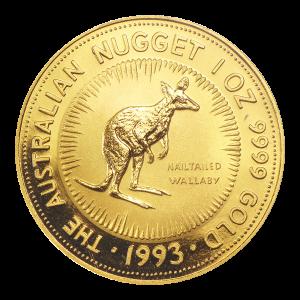 1 oz 1993 Australian Nugget Gold Coin