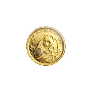 1/20 oz 1990 Chinese Panda Gold Coin
