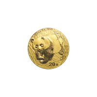 1/20 oz 2001 Chinese Panda Gold Coin