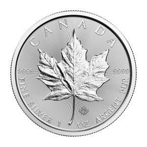 1 oz 2018 Canadisk Maple Leaf Sølvmynt