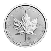 1oz 2018 Canadian Maple Leaf Silver Coin
