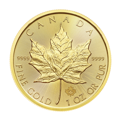 1oz 2018 Canadian Maple Leaf Gold Coin