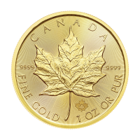 1 oz 2018 Canadian Maple Leaf Gouden Munt