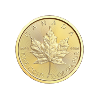 1/2oz 2018 Canadian Maple Leaf Gold Coin