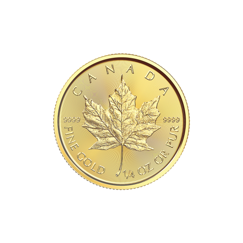 1/4oz 2018 Canadian Maple Leaf Gold Coin