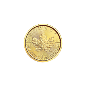 1/10 oz 2018 Canadisk Maple Leaf Gullmynt