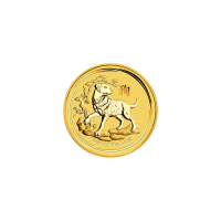 1/20 oz 2018 Perth Mint Lunar Year of the Dog Gold Coin