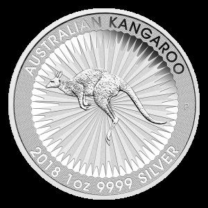 Moneda de Plata Canguro Australiano 2018 de 1 oz