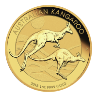 1 oz Goldmünze - australisches Känguru - 2018