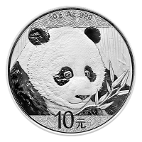 30 gram 2018 Chinese Panda Silver Coin