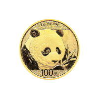 8 gram 2018 Chinese Panda Gold Coin