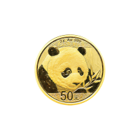 3 gram 2018 Chinese Panda Gold Coin