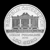 Pièce d'argent Philharmonique d'Autriche 2018 de 1 once