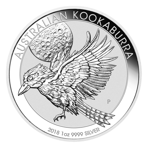 Moneda de Plata Cucaburra Australiano 2018 de 1 oz