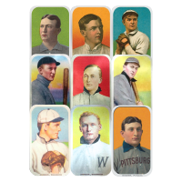 1 oz Assorted Elemetal T-206 Baseball Greats Series Silver Bar