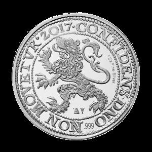 1 oz 2017 Royal Dutch Mint Leeuw Dollar Restrike Zilveren Bullion Munt