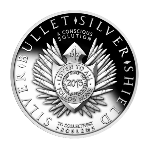 1 oz 2013 New Year's Silver Proof-Like Round