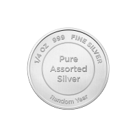 1/4 oz Pure Assorted Silver