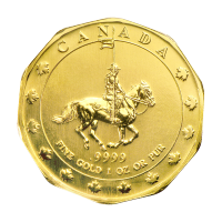 Moneda de Oro RCMP 1997 de 1 oz