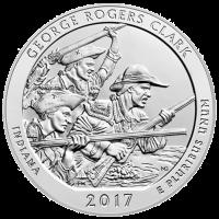 5 oz 2017 America the Beautiful | George Rogers Clark