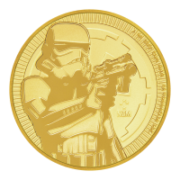 Star Wars 2018 de 1 oz | Moneda de Oro Stormtrooper