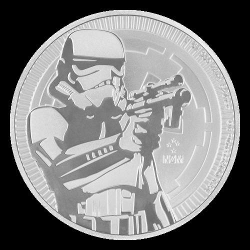 1 oz Silbermünze Star Wars - Krieg der Sterne | Sturmtruppler 2018