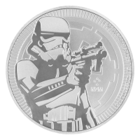 1 oz 2018 Star Wars | Stormtrooper Silver Coin