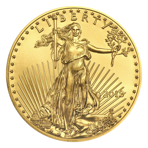 1 oz 2018 American Eagle Gold Coin