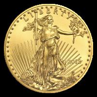 Moneda de Oro Águila Americana 2018 de 1 oz