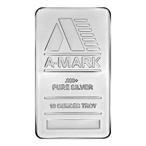 10 oz A Mark Silver Bar