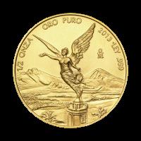 1/2 oz Goldmünze - mexikanische Libertad - 2013