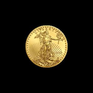 Pièce d'or American Eagle 2018 de 1/10 once