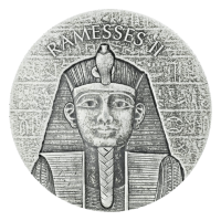 2 oz 2017 Egyptian Relic Series | Pharaoh Ramesses II Silver Coin
