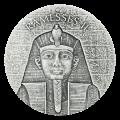2 oz 2017 Egyptian Relic Series | Pharaoh Ramesses II Silver Coin